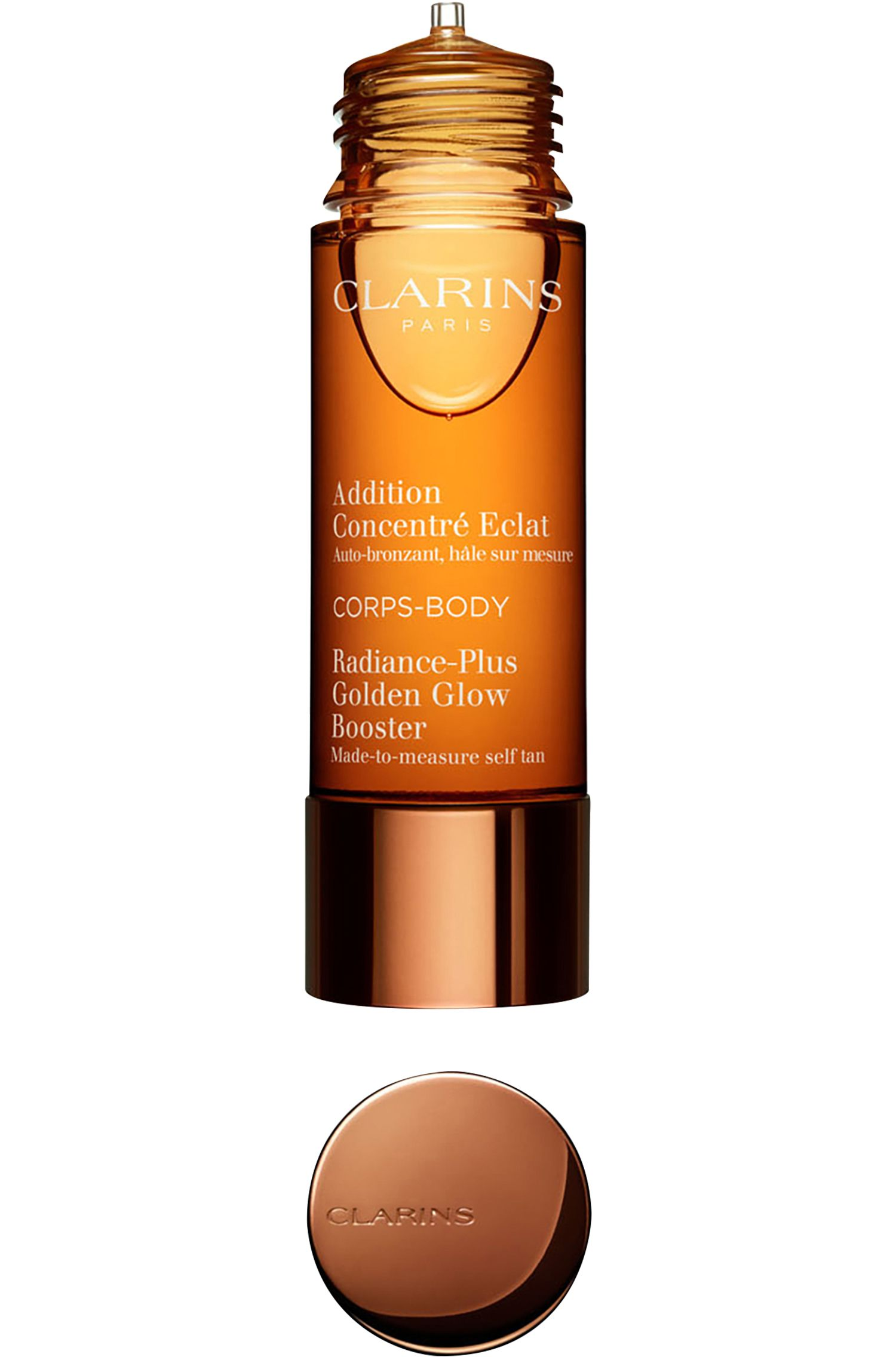 Blissim : Clarins - Auto-bronzant corps Addition Concentré Eclat - Auto-bronzant corps Addition Concentré Eclat