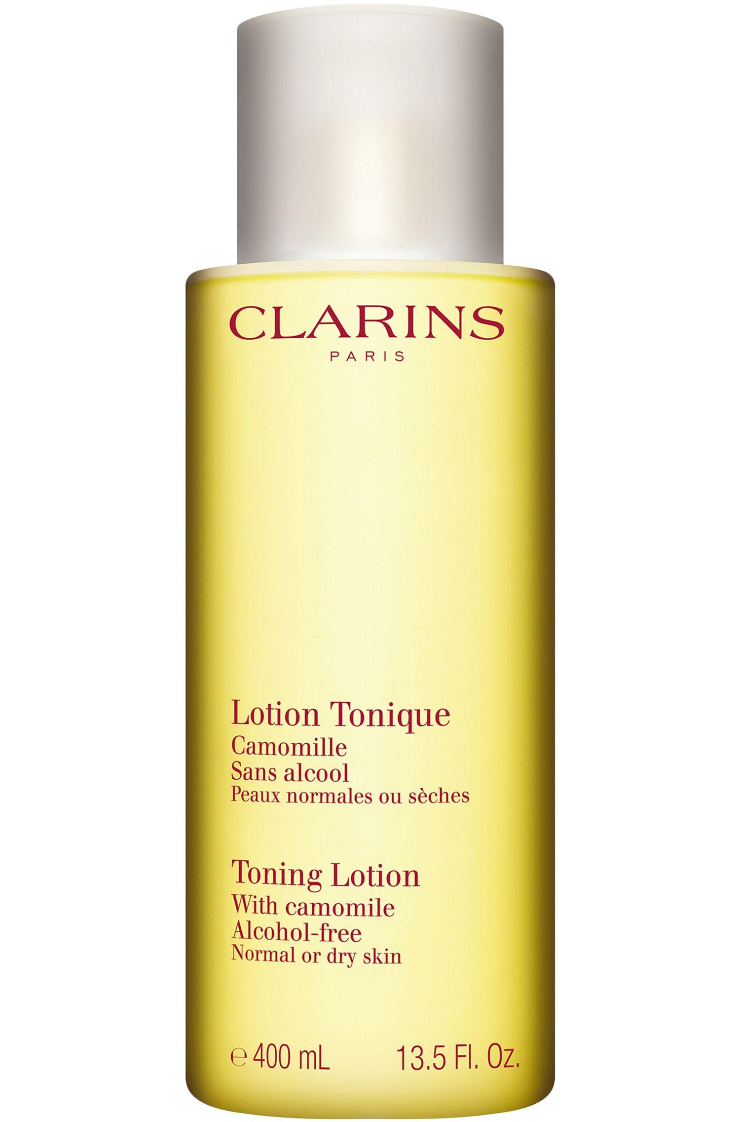 Blissim : Clarins - Lotion tonique démaquillante apaisante peaux sèches - 400ml