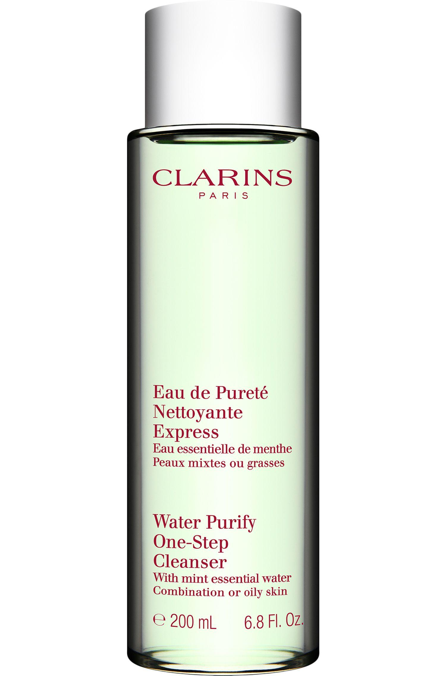Blissim : Clarins - Eau démaquillante purifiante express menthe peaux mixtes à grasses - Eau démaquillante purifiante express menthe peaux mixtes à grasses