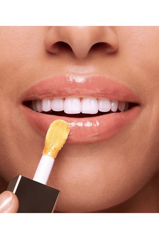 Blissim : Clarins - Huile confort lèvres Eclat Minute - 01-Honey