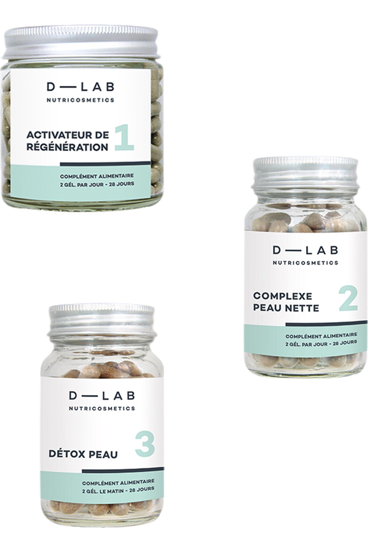 Blissim : D-LAB Nutricosmetics - Compléments alimentaires Programme Peau-Parfaite - Compléments alimentaires Programme Peau-Parfaite