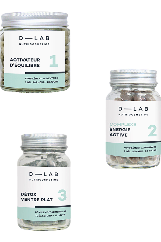 Blissim : D-LAB Nutricosmetics - Compléments alimentaires Programme Ventre-Plat - Compléments alimentaires Programme Ventre-Plat