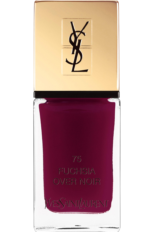 Blissim : Yves Saint Laurent - Vernis à ongles La Laque Couture - N°75 FUCHSIA OVER NOIR