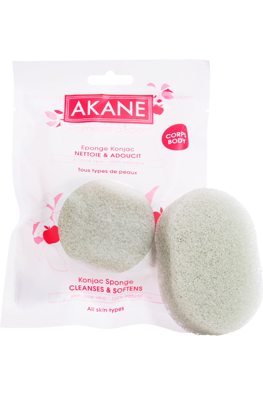 Blissim : Akane - Eponge Konjac Corps à l'Aloe Vera - Eponge Konjac Corps à l'Aloe Vera