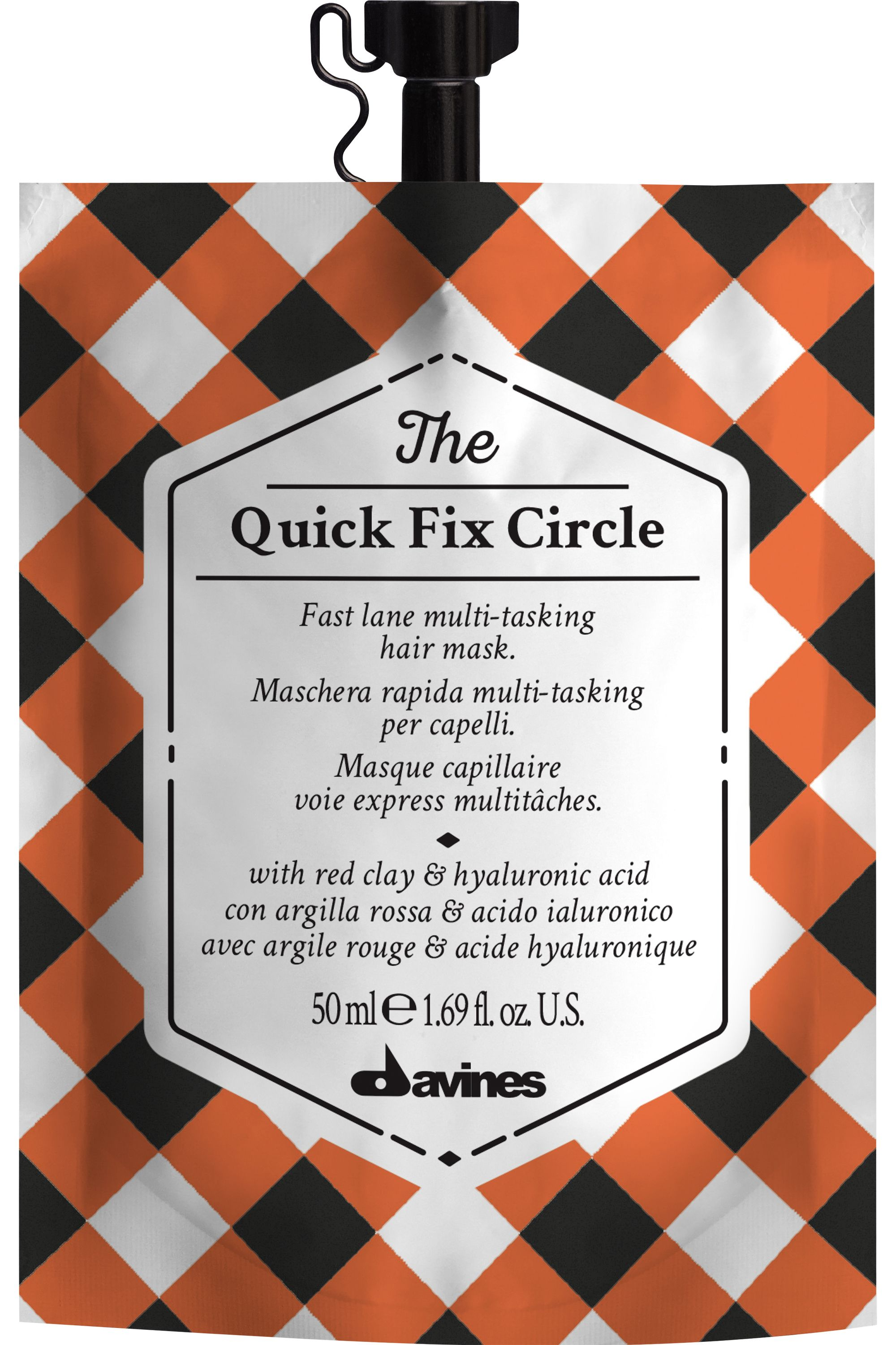 Blissim : Davines - Masque express hydratant volumateur The Quick Fix Circle - Masque express hydratant volumateur The Quick Fix Circle