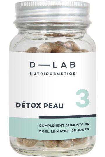 Compléments alimentaires Détox Peau