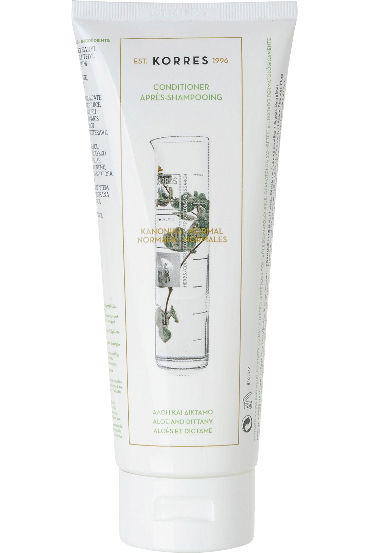 Blissim : Korres - Après-shampooing aloes et dictame pour cheveux normaux - Après-shampooing aloes et dictame pour cheveux normaux