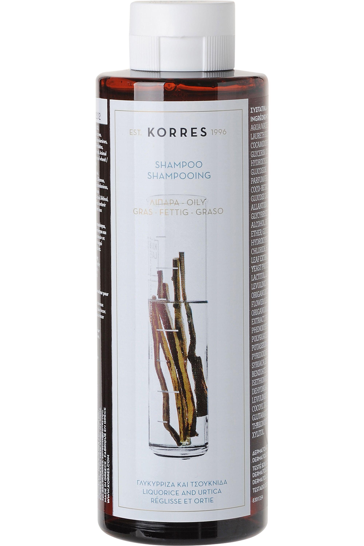 Blissim : Korres - Shampooing réglisse et ortie pour cheveux gras - Shampooing réglisse et ortie pour cheveux gras
