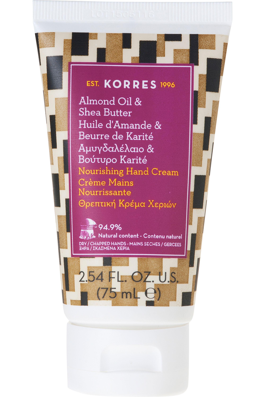 Blissim : Korres - Crème mains ultra-nourrissante amande & beurre de Karité - Crème mains ultra-nourrissante amande & beurre de Karité