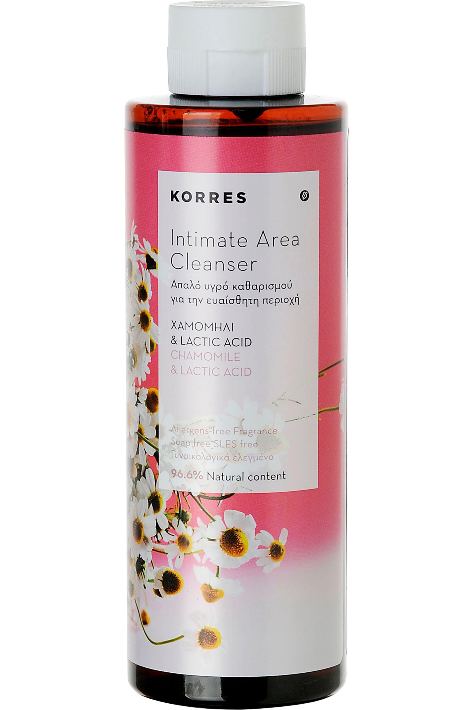 Blissim : Korres - Gel moussant nettoyant intime camomille et acide lactique - Gel moussant nettoyant intime camomille et acide lactique