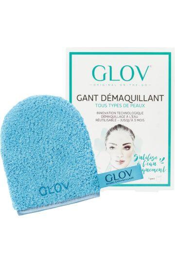Gant démaquillant On-The-Go Bleu Tous Types de Peaux