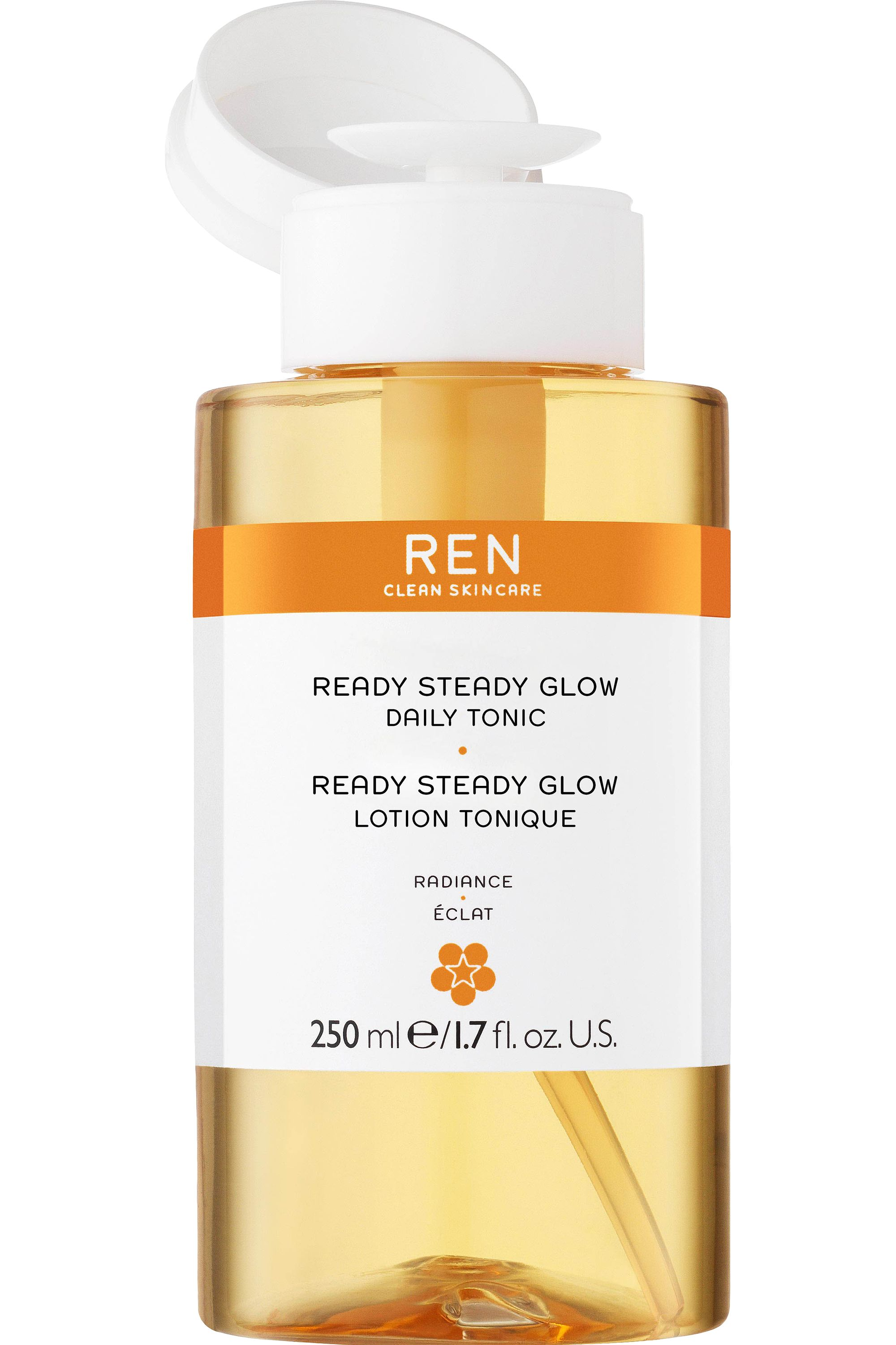 Blissim : REN - Lotion tonique Radiance Ready Steady Glow AHA - Lotion tonique Radiance Ready Steady Glow AHA