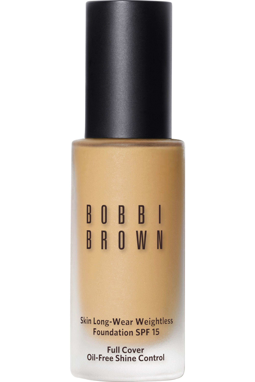 Blissim : Bobbi Brown - Fond de teint skin fini mat Long-Wear Weightless SPF15 - Sand