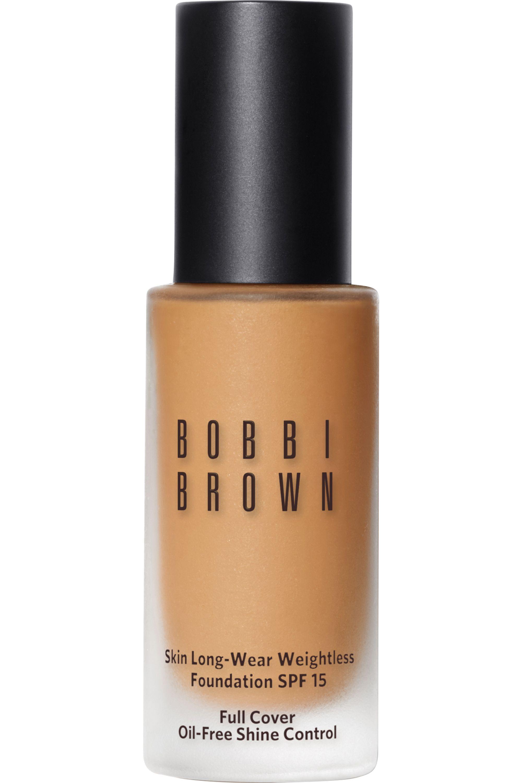 Blissim : Bobbi Brown - Fond de teint skin fini mat Long-Wear Weightless SPF15 - Warm Beige