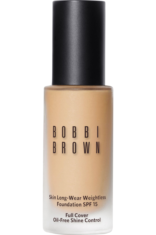 Blissim : Bobbi Brown - Fond de teint skin fini mat Long-Wear Weightless SPF15 - Warm Ivory