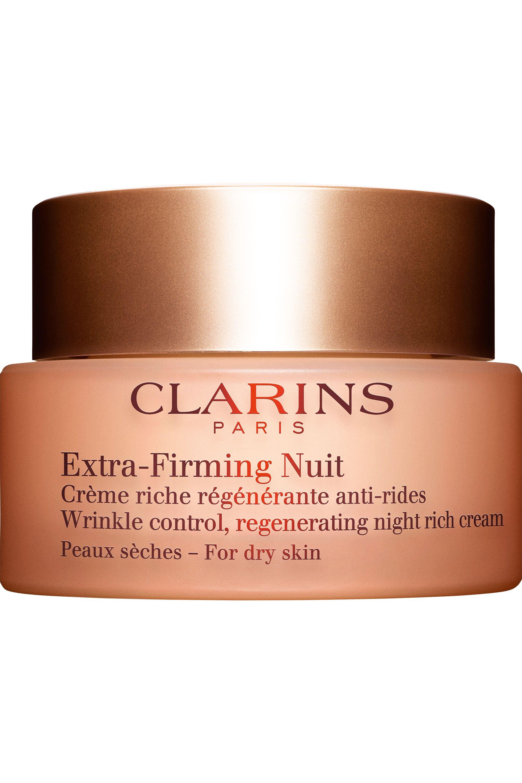 Blissim : Clarins - Crème nuit anti-rides régénérante peaux sèches Extra-Firming - Crème nuit anti-rides régénérante peaux sèches Extra-Firming