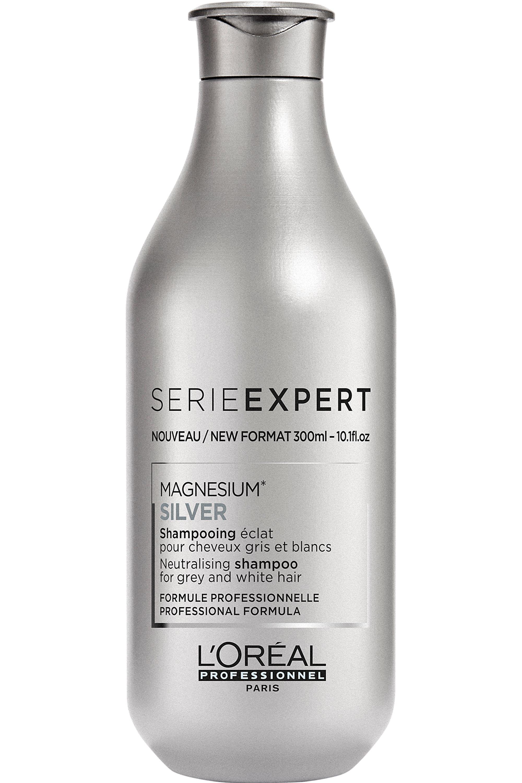 Blissim : L'Oréal Professionnel - Shampoing éclat cheveux gris et blancs Silver - Shampoing éclat cheveux gris et blancs Silver
