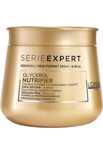 Masque fondant nutritif pour cheveux secs Nutrifier