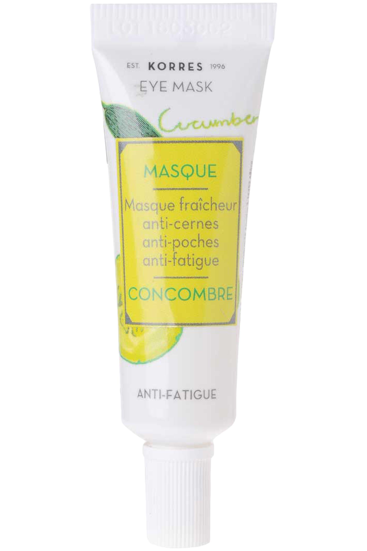 Blissim : Korres - Masque concombre fraîcheur anti-cernes anti-fatigue - Masque concombre fraîcheur anti-cernes anti-fatigue