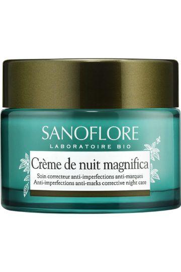 Crème de nuit matifiante anti-imperfections Bio Magnifica