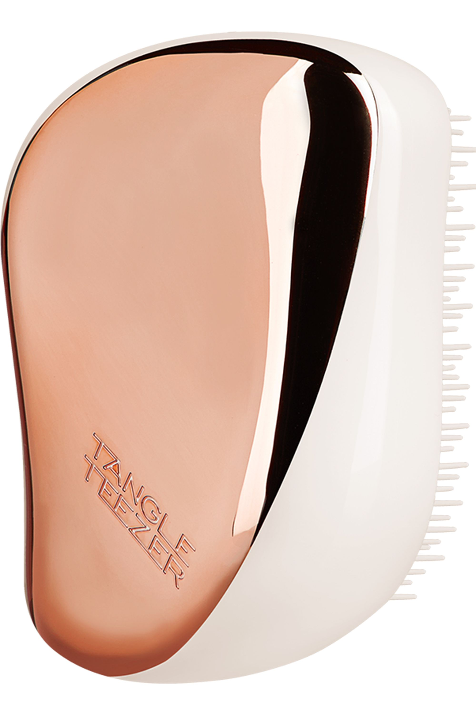 Blissim : Tangle Teezer - Brosse démêlante Compact Styler Cream Rose Gold - Brosse démêlante Compact Styler Cream Rose Gold