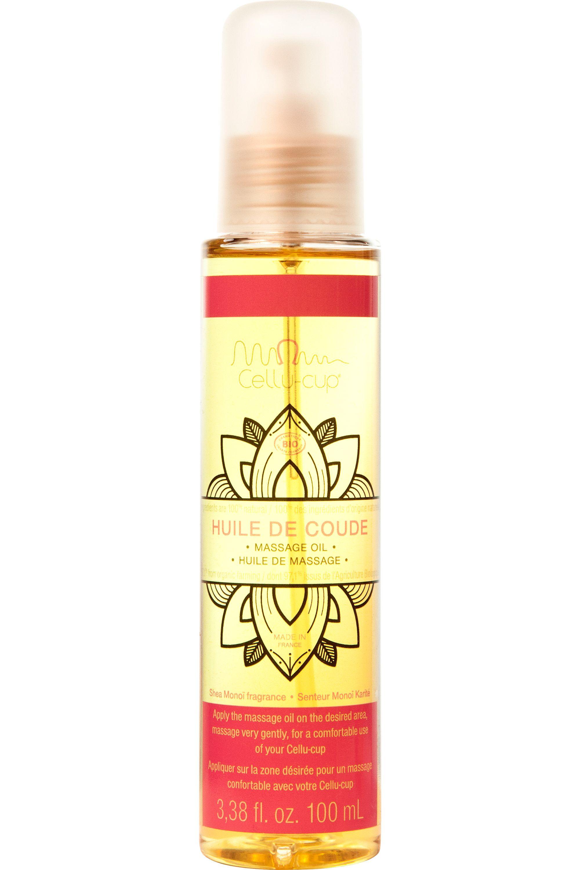 Blissim : Cellu-Cup - Huile de Massage Monoï et Karité - Huile de Massage Monoï et Karité