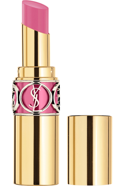 Blissim : Yves Saint Laurent - Rouge Volupté Shine - N°52 Trapèze Pink