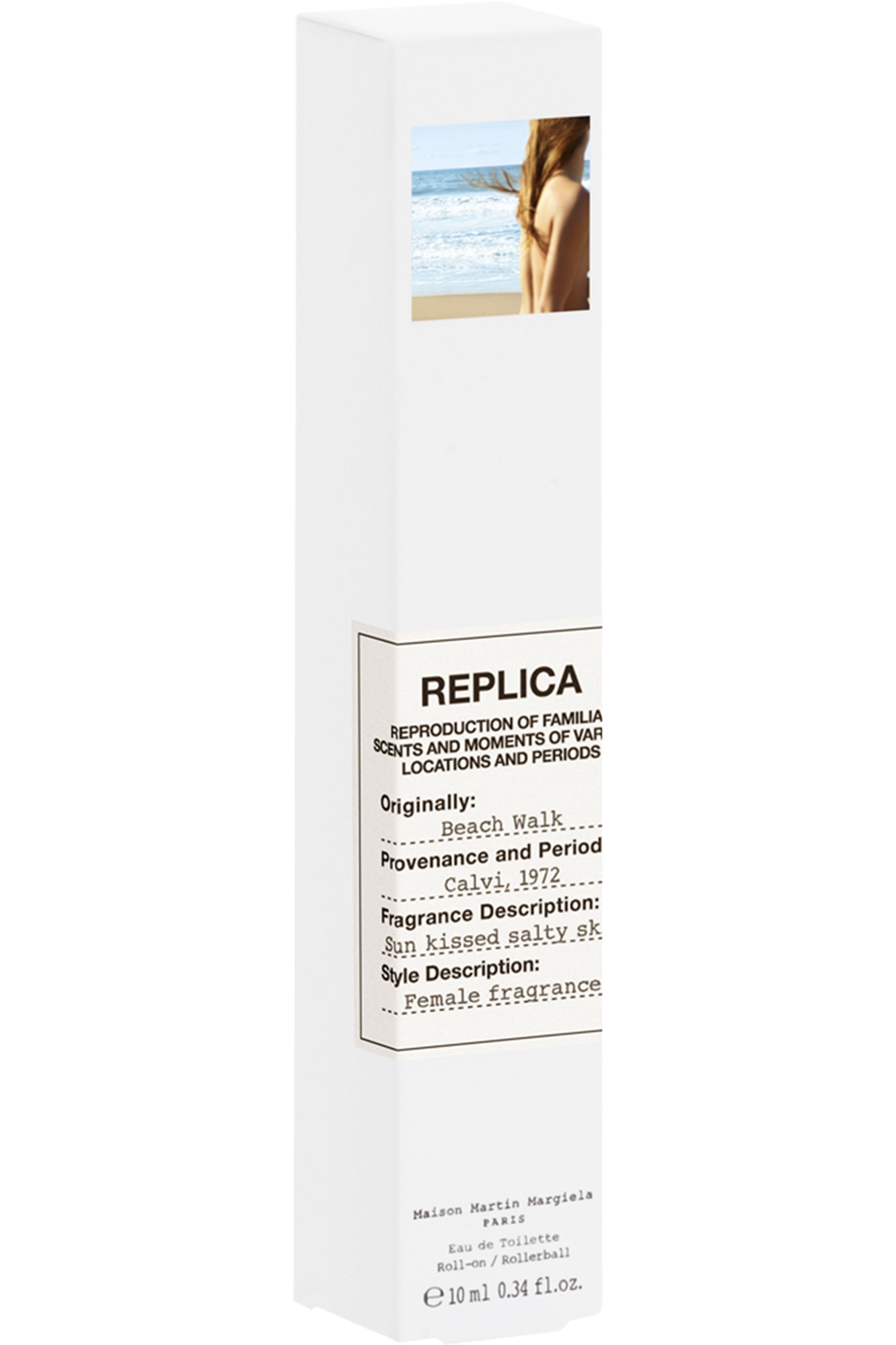 Blissim : Maison Margiela - Eau De Toilette Floral REPLICA Beach Walk 10ml - Eau De Toilette Floral REPLICA Beach Walk 10ml