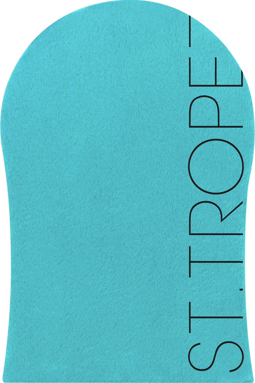 Blissim : St. Tropez - Gant Applicateur Velours pour Autobronzant - Gant Applicateur Velours pour Autobronzant