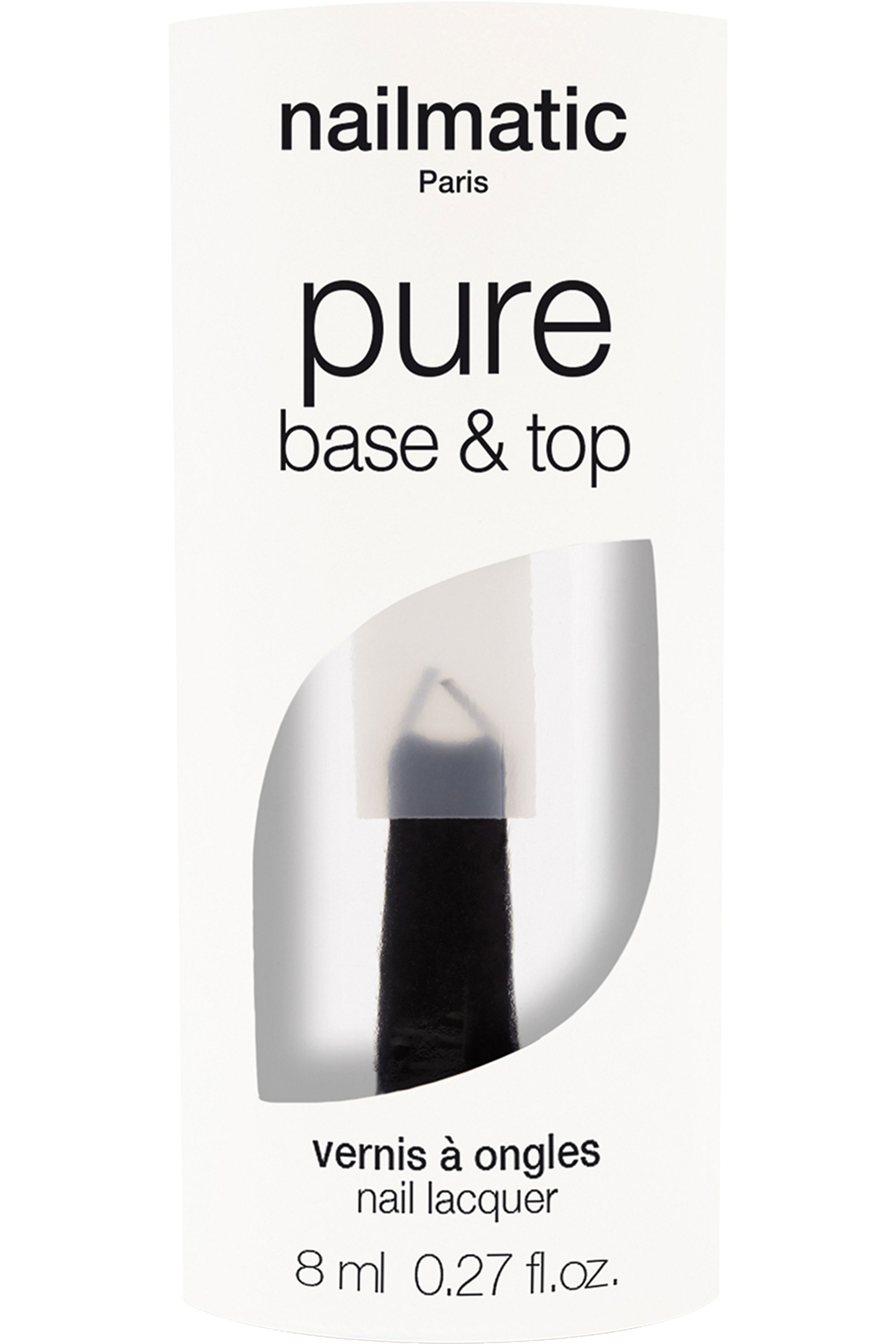Blissim : Nailmatic - BASE & TOP- 2 en 1 Biosourcé - BASE & TOP- 2 en 1 Biosourcé