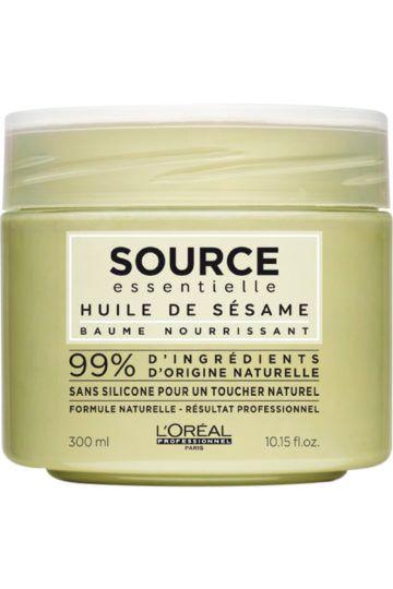 Masque baume nourrissant Source Essentielle pour cheveux secs