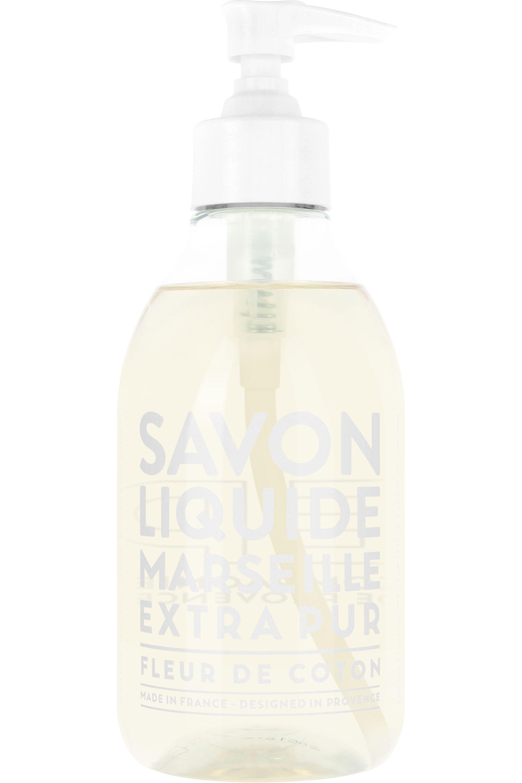 Blissim : Compagnie De Provence - Savon Liquide de Marseille mains et corps 300 ml - Fleur de Coton