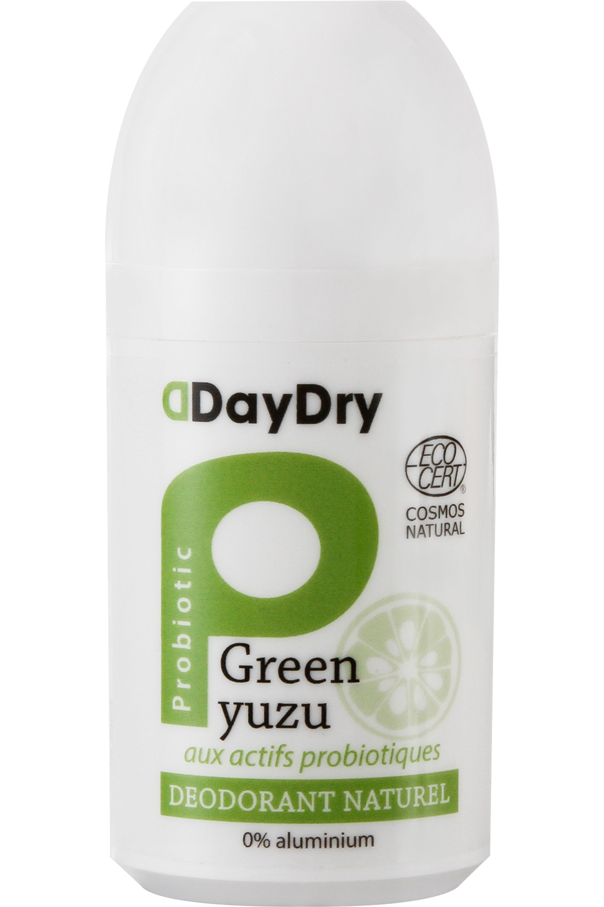 Blissim : Daydry probiotics by Biosme - Déodorant Naturel Green Yuzu - Déodorant Naturel Green Yuzu
