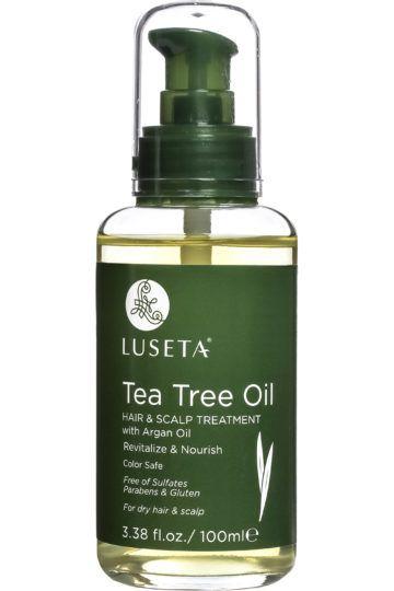 Traitement cheveux à l'huile d'arbre à thé