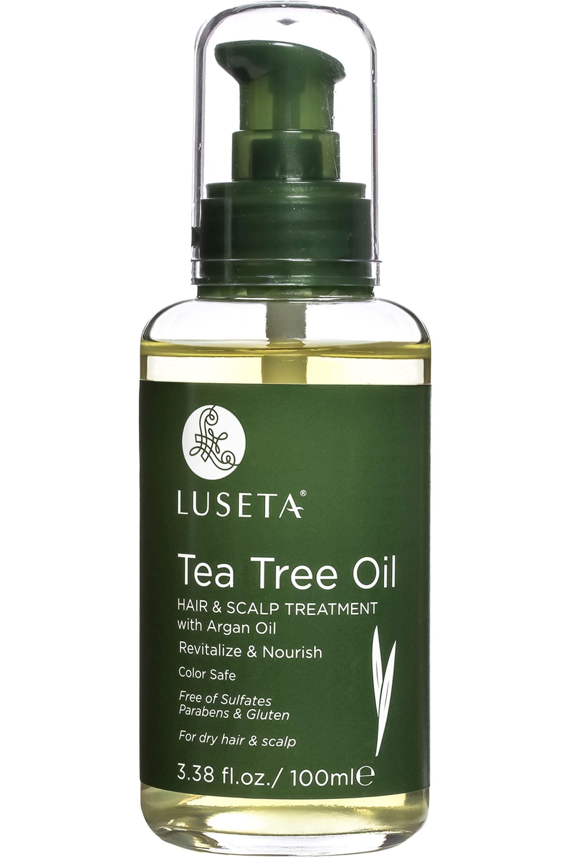Blissim : Luseta - Traitement cheveux à l'huile d'arbre à thé - Traitement cheveux à l'huile d'arbre à thé