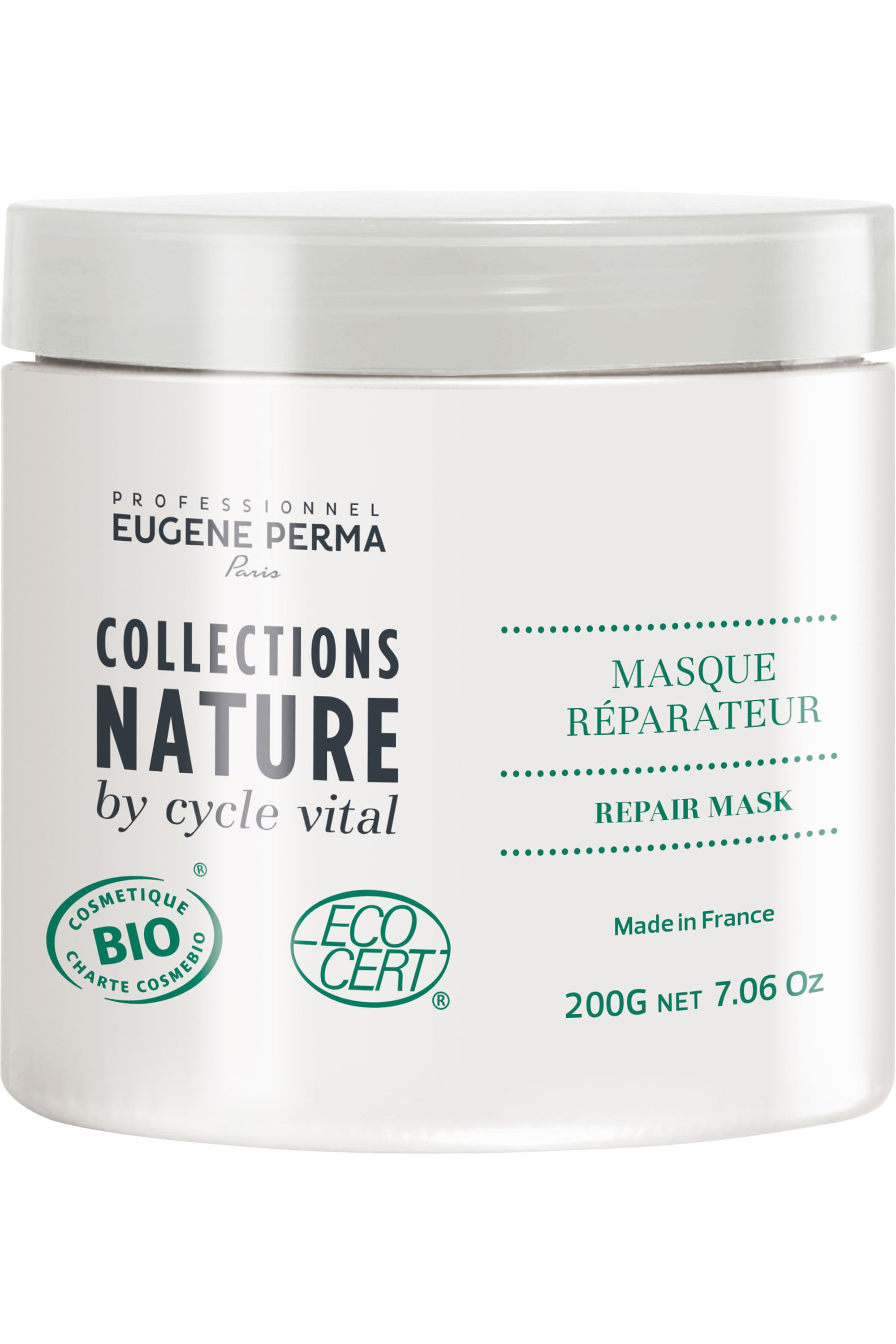 Blissim : Collections Nature - Masque cheveux réparateur - Masque cheveux réparateur
