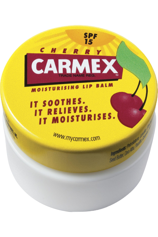 Blissim : Carmex - Baume à lèvres Carmex pot cerise - Baume à lèvres Carmex pot cerise
