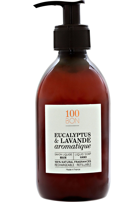 Blissim : 100bon - Savon liquide Eucalyptus & Lavande aromatique - Savon liquide Eucalyptus & Lavande aromatique