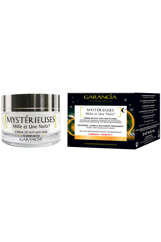 Blissim : Garancia - Crème nuit anti-âge Mystérieuses Mille et Une Nuits® - Crème nuit anti-âge Mystérieuses Mille et Une Nuits®