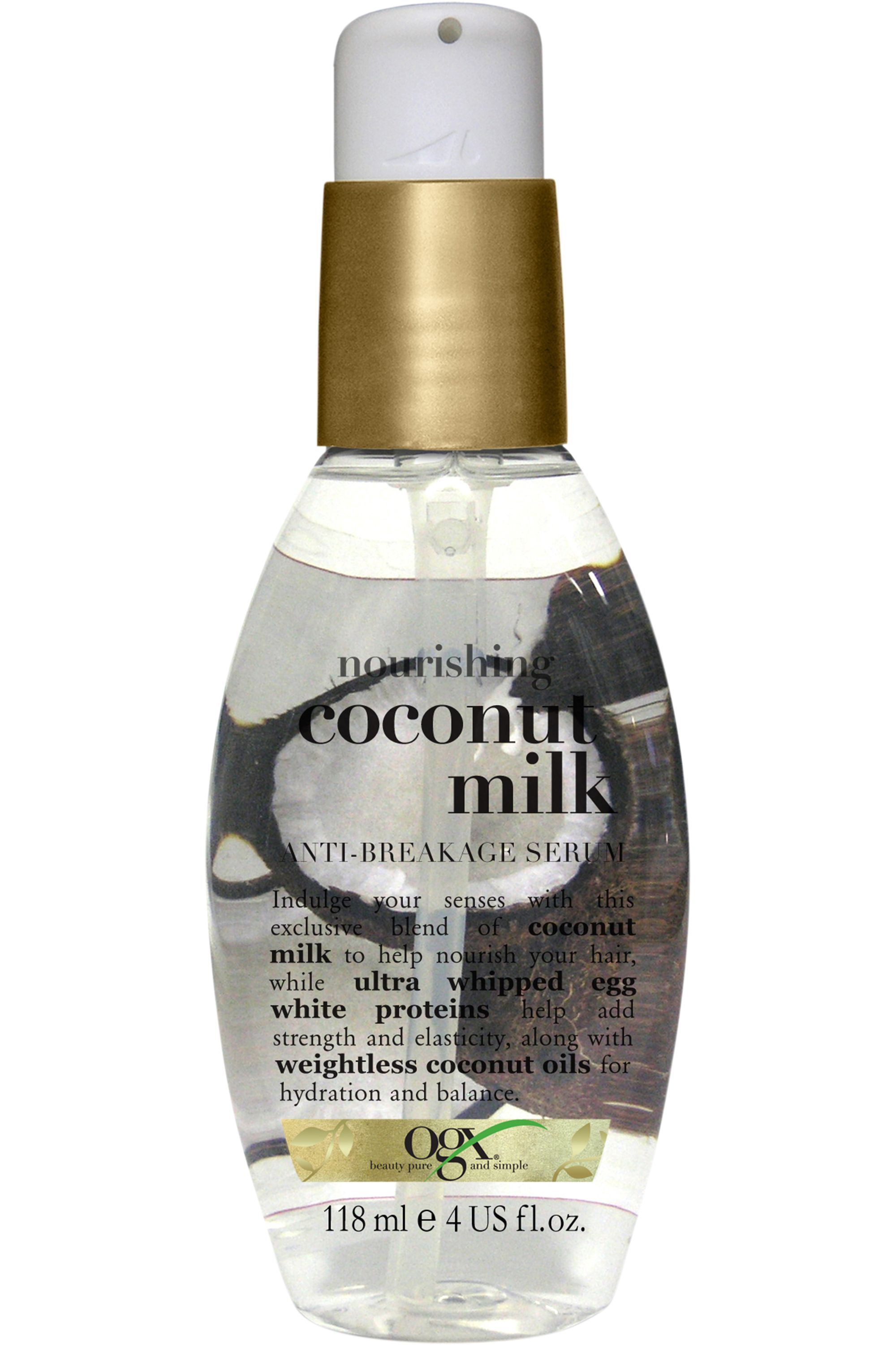 Blissim : OGX - Sérum anti-casse Coconut Milk - Sérum anti-casse Coconut Milk
