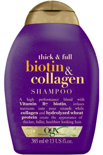 Shampooing Biotin Collagen