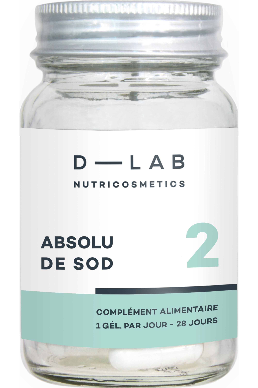Blissim : D-LAB Nutricosmetics - Compléments alimentaires action antioxydante Absolu de SOD - Compléments alimentaires action antioxydante Absolu de SOD