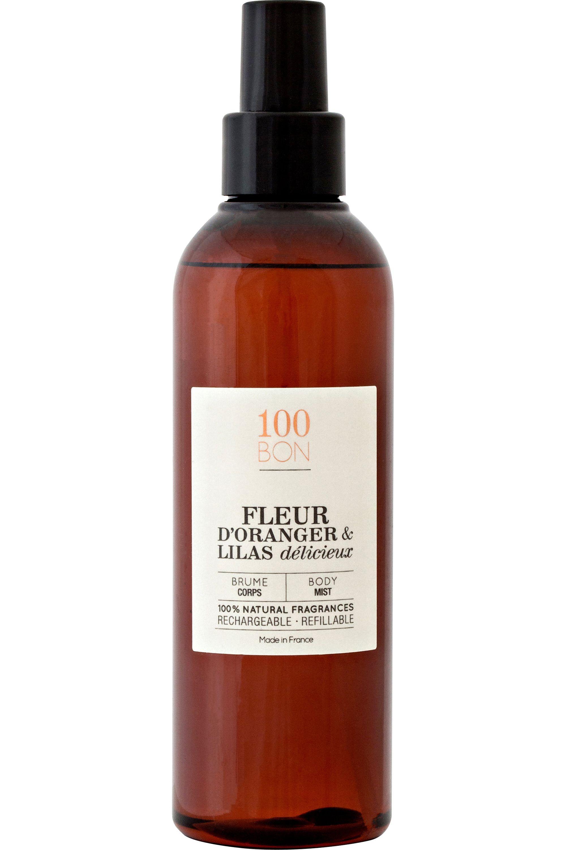 Blissim : 100bon - Brume Parfumée Fleur Oranger & Lilas délicieux - Brume Parfumée Fleur Oranger & Lilas délicieux