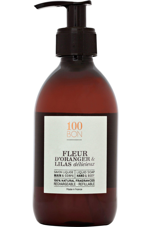 Blissim : 100bon - Savon liquide Fleur Oranger & Lilas délicieux - Savon liquide Fleur Oranger & Lilas délicieux
