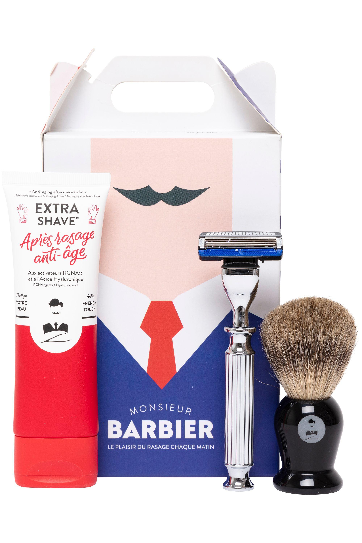 Blissim : Monsieur Barbier - Coffret rasage Super Deluxe - Coffret rasage Super Deluxe
