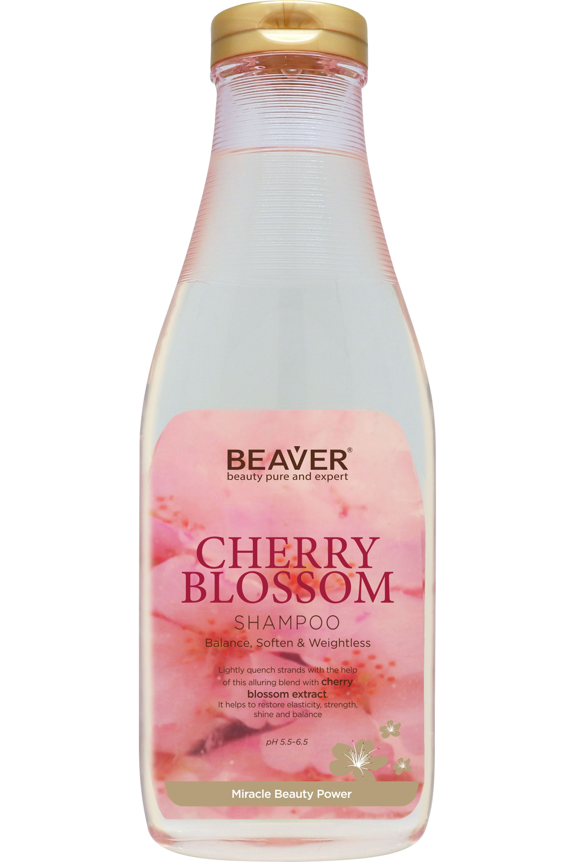 Blissim : Beaver Professional - Shampooing Cherry Blossom - Shampooing Cherry Blossom