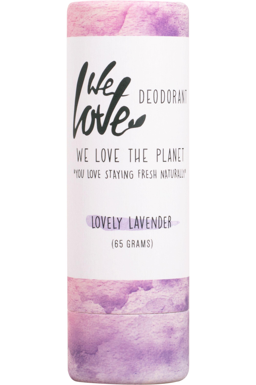 Blissim : WE LOVE THE PLANET - Déodorant stick naturel Lovely lavender - Déodorant stick naturel Lovely lavender