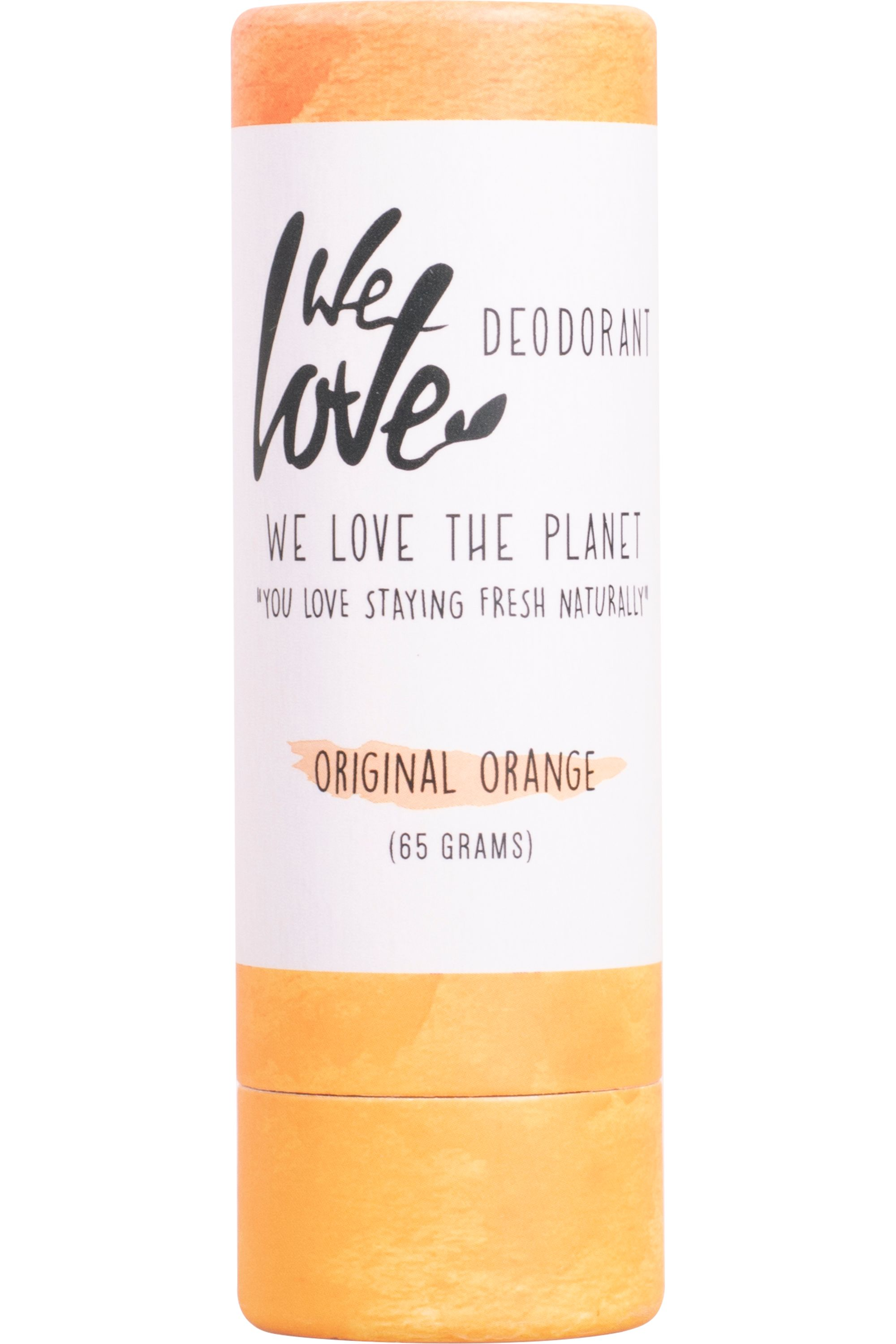 Blissim : WE LOVE THE PLANET - Déodorant stick naturel Original Orange - Déodorant stick naturel Original Orange