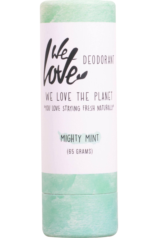 Blissim : WE LOVE THE PLANET - Déodorant stick naturel Mighty Mint - Déodorant stick naturel Mighty Mint