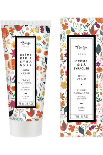 Crème Corps Été à Syracuse Fleur d'Oranger